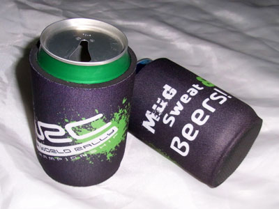 custom print neoprene beer can cooler